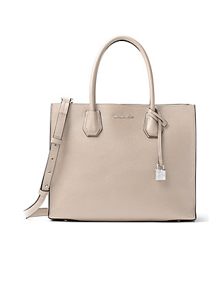 aee759f4f541 MICHAEL Michael Kors. MICHAEL Michael Kors Kors Studio Collection Mercer  Large Bonded-Leather Tote