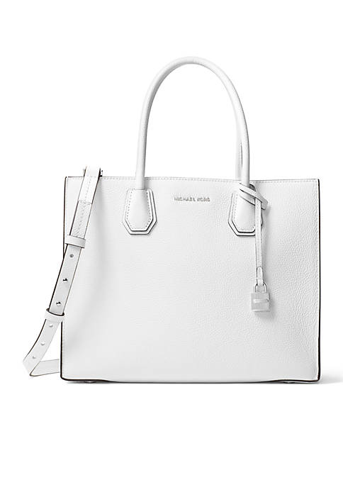 Kors Studio Collection Mercer Large Bonded-Leather Tote