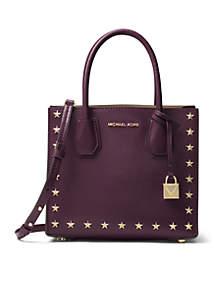 Mercer Stud & Grommet Medium Messenger Bag