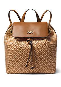 45654748c7477 ... MICHAEL Michael Kors Junie Medium Woven Backpack