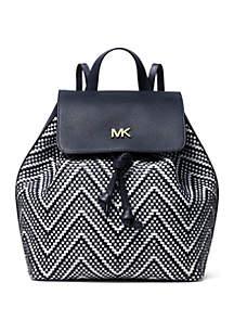 4435dbc3a42f ... MICHAEL Michael Kors Junie Medium Woven Backpack