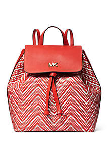 MICHAEL Michael Kors Junie Medium Woven Backpack