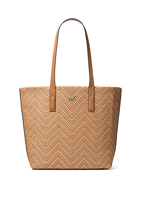 Junie Large Woven Tote Bag