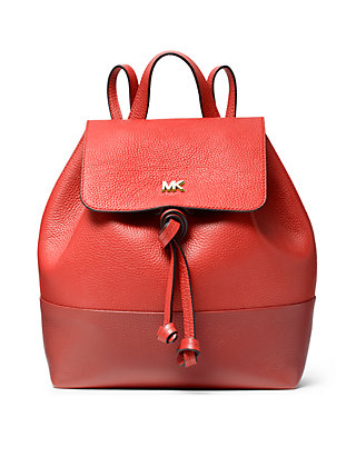 6930c7751aac MICHAEL Michael Kors. MICHAEL Michael Kors Junie Medium Flap Backpack