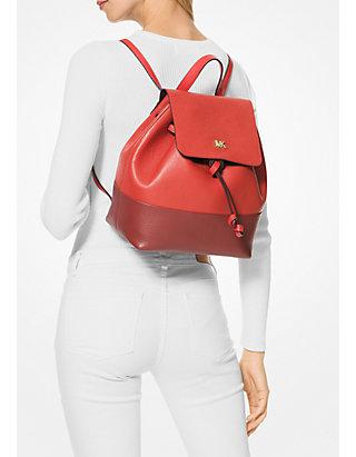 57c4e7b148e3 MICHAEL Michael Kors Junie Medium Flap Backpack | belk