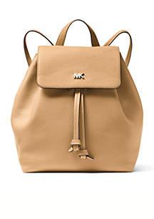 Junie Medium Flap Backpack