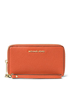 MICHAEL Michael Kors Mercer Large Flat Phone Case Wristlet