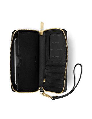6f8709722ecc MICHAEL Michael Kors Kors Studio Mercer Large Flat Phone Case | belk
