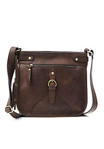 Victoria Distressed Crossbody