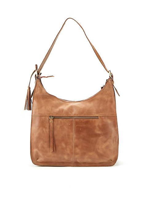 Diba True® Antonio Hobo Distressed Shoulder Bag