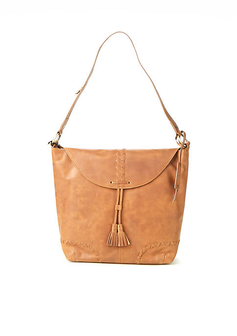 Diba True® Oatfront Flap Hobo Bag