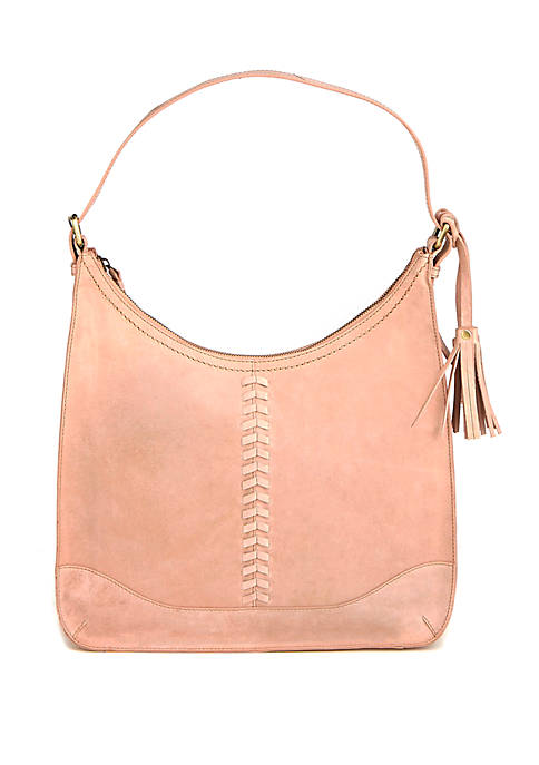 Diba True® Prisha Distressed Hobo Bag