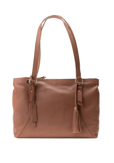 Diba True® Mello Pebble Leather Tote Bag