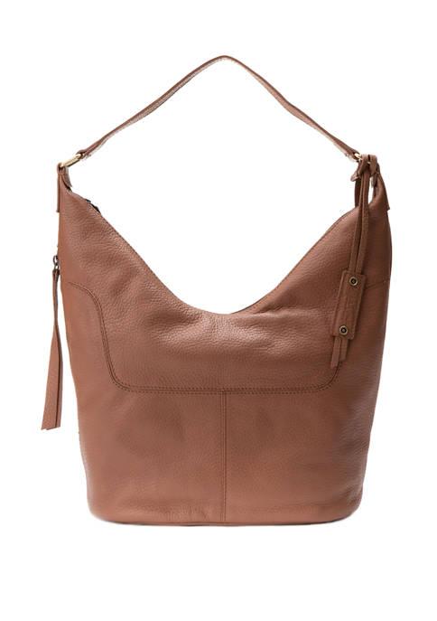 Diba True® Mello Pebble Leather Hobo Bag
