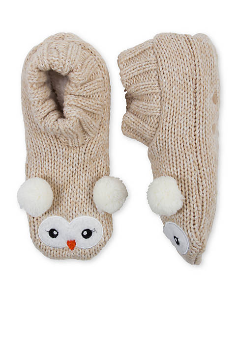 High Point Design Critter Knitters Slipper Socks- Single