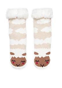 Cozy Critter Slipper Socks