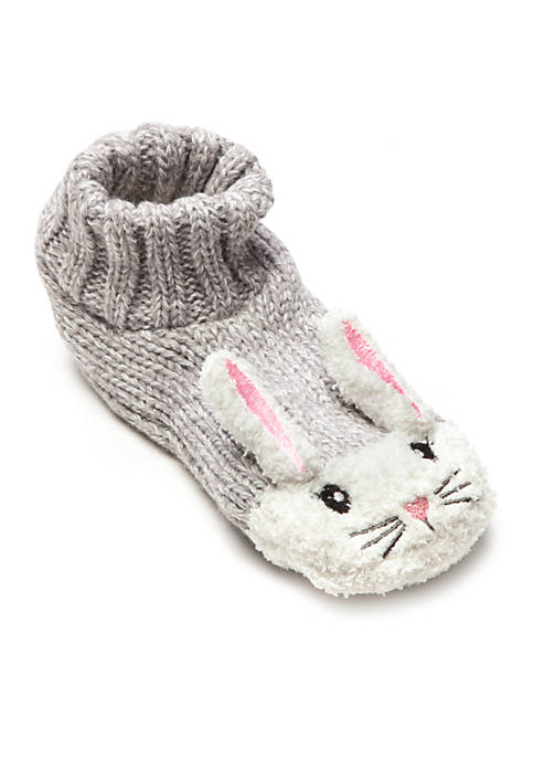 High Point Design Knit Critter Slippers