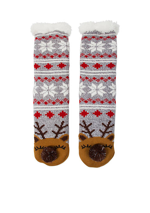 High Point Design Christmas Cozy Warmer Socks