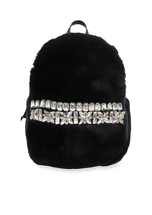 Chinese Laundry Bella Mini Fur Backpack