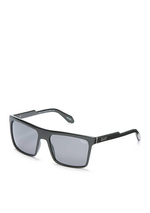 Let It Run Rectangle Sunglasses