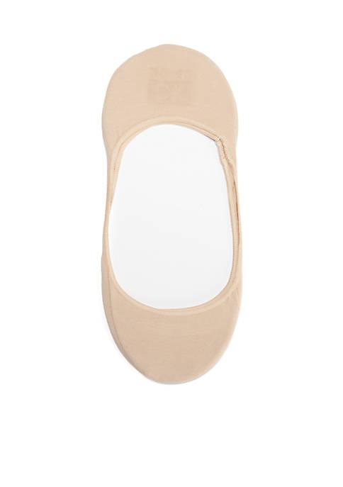 Calvin Klein Cotton No Show Liner Socks