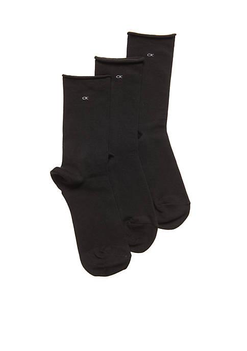 Calvin Klein Roll Top Socks