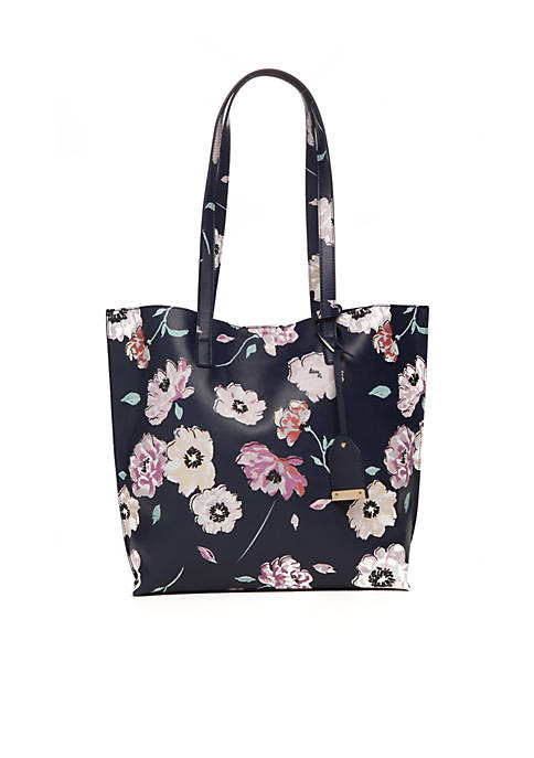 Tote with Luggage Tag