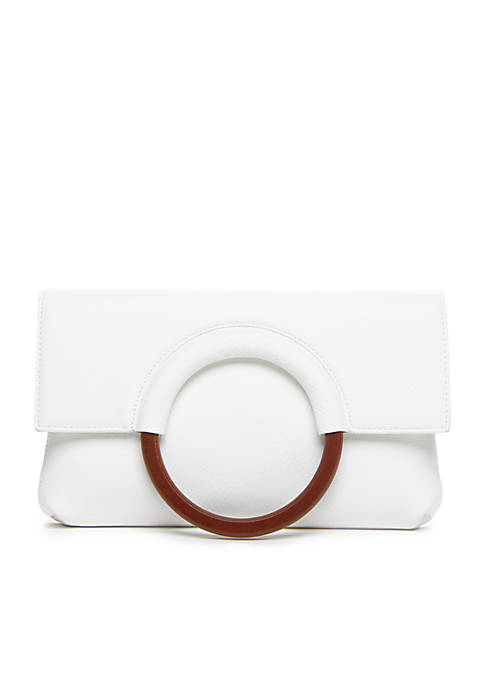 Clutch With Wooden Ring