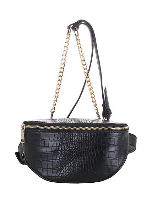 Kaari Blue™ Croc Belt Bag