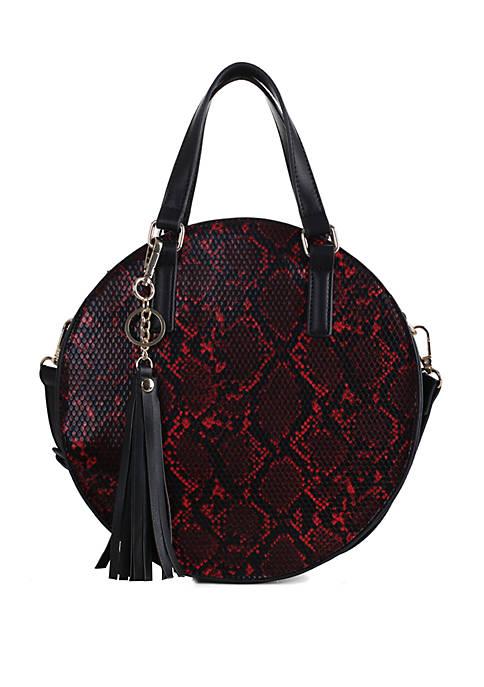 Kaari Blue™ Snake Circle Bag