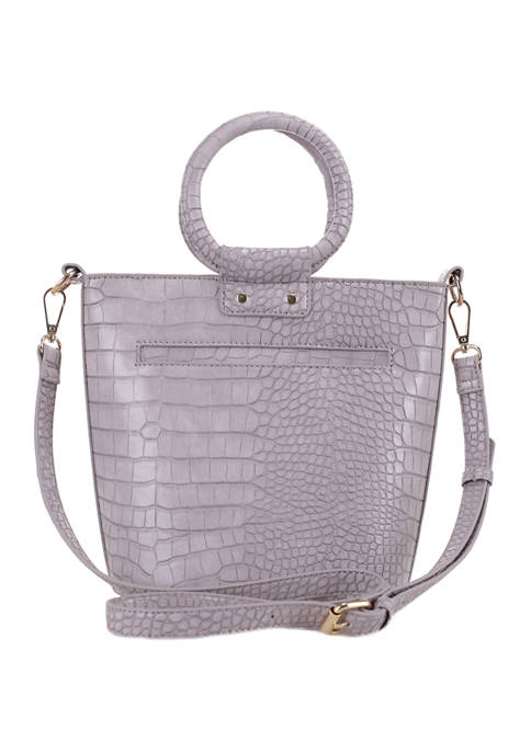 Kaari Blue™ Croc Bucket Bag