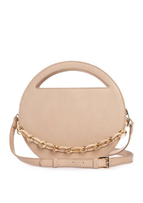 Kaari Blue™ Cutout Circle Bag with Chain