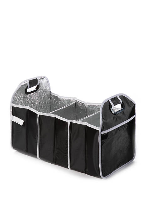 Collapsible Trunk Cooler and Organizer