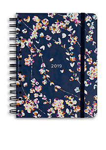 17-Month Cut Vines Medium Planner