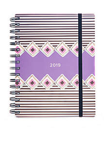 13-Month Dream Tapestry Diamonds Student Planner