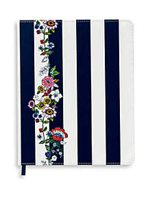 Midnight Floral Stripe Journal
