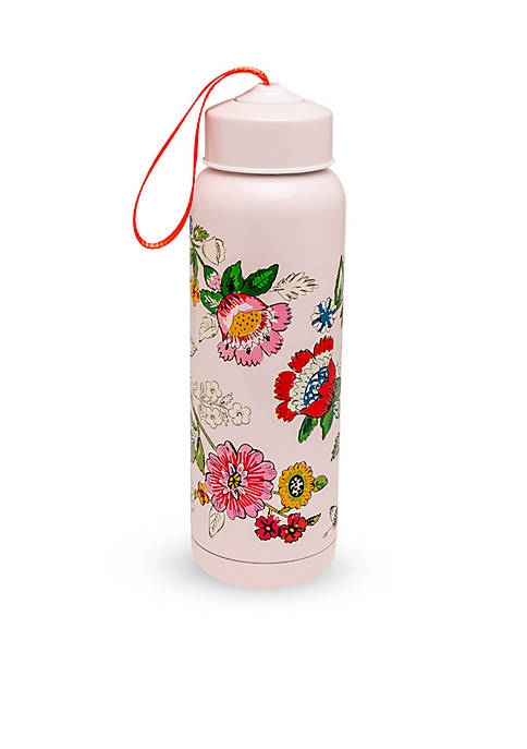 Vera Bradley Blush Floral Water Bottle