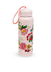 Blush Floral Water Bottle