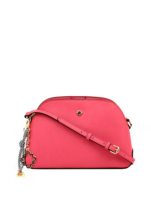 Crown & Ivy™ Lexie Triple Dome Crossbody