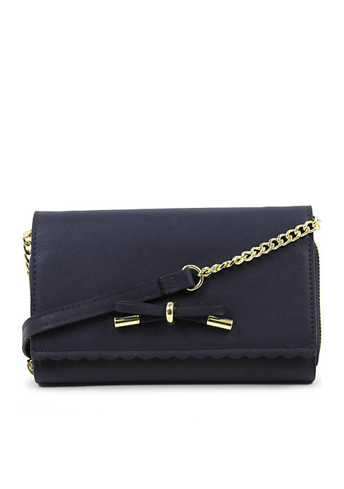 Josie Scallop Crossbody Wallet