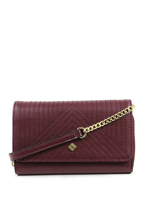 Crown & Ivy™ Darci Quilted Crossbody