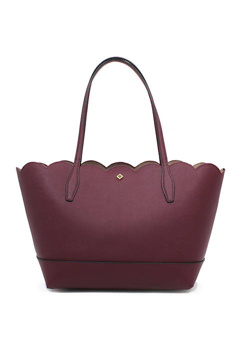 Crown & Ivy™ Madison Scallop Tote