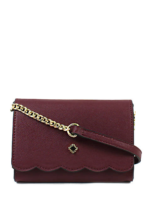 Crown & Ivy™ Madison Scallop Crossbody