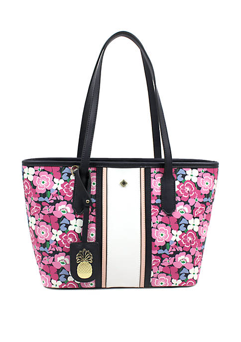 Crown & Ivy™ Ivy Floral Print Shopper