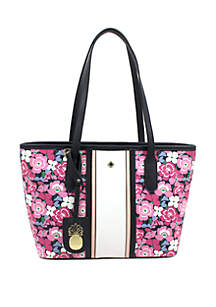 Crown & Ivy™ Ivy Floral Print Shopper