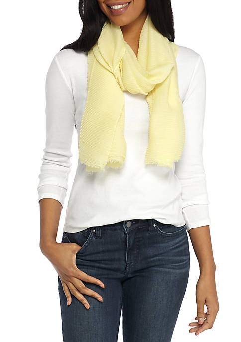 Crown & Ivy™ Soft Pleat Wrap