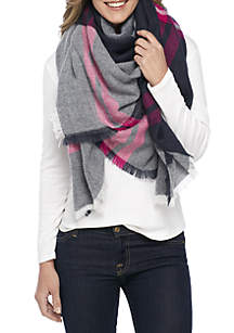 Pop Stripe and Square Scarf