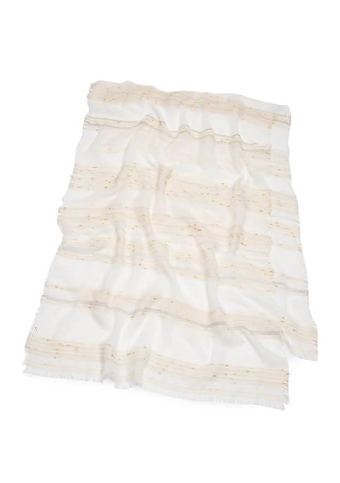 Textured Stripe Wrap