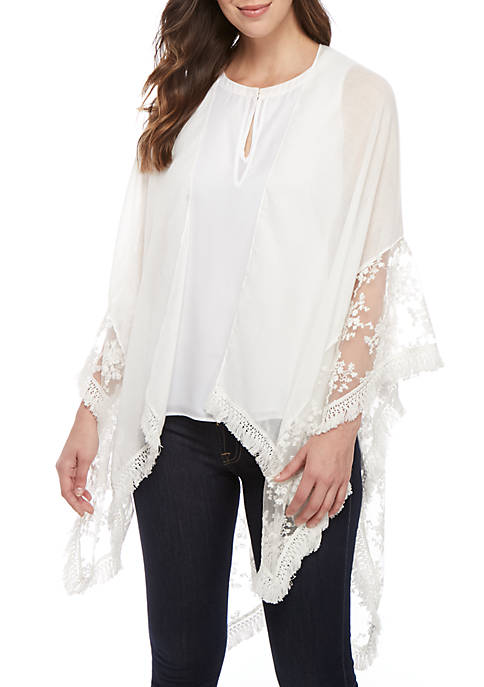 Lace Border Cover Up
