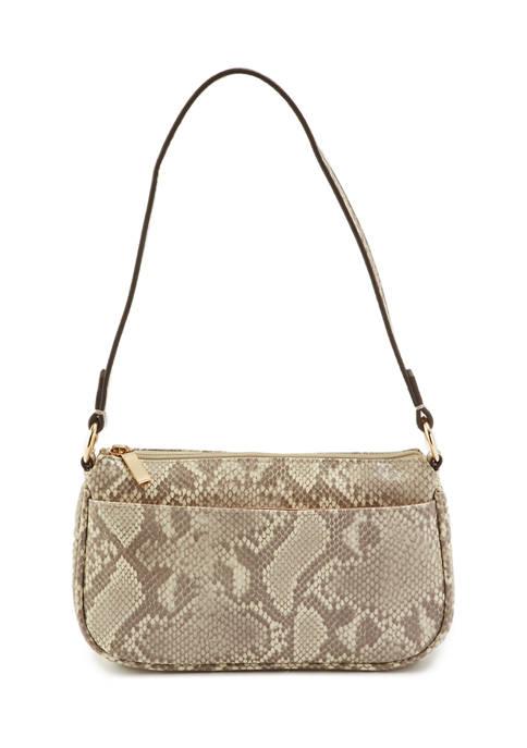 Demi Top Zip Shoulder Bag